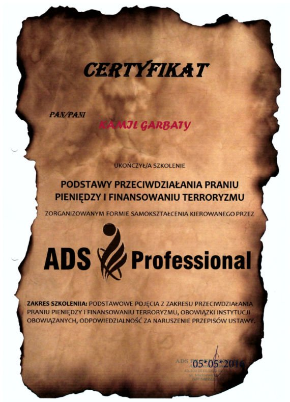 certyfikat-przeciwdzialanie-praniu-pieniedzy-i-finansowaiu-terroryzmu